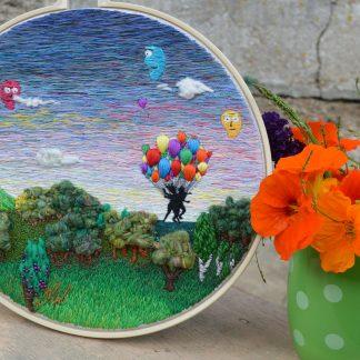 Big thread paintings